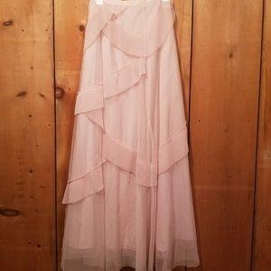 Lauren Conrad LC runway tulle maxi skirt
